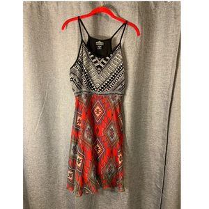 Boho patterned dress